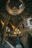 Σκαλοπάτια και διακοσμητικά στοιχεία Στοκ Φωτογραφίες