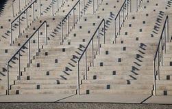 Σκαλοπάτια και κιγκλιδώματα Στοκ φωτογραφίες με δικαίωμα ελεύθερης χρήσης