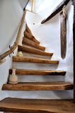 σκαλοπάτια ξύλινα Στοκ εικόνα με δικαίωμα ελεύθερης χρήσης