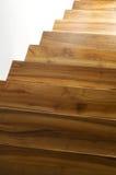 σκαλοπάτια ξύλινα στοκ εικόνα