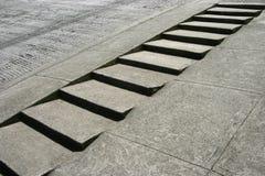 σκαλοπάτια πεζοδρομίων στοκ φωτογραφία