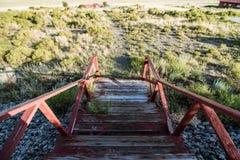 Σκαλοπάτια πεζοπορίας στοκ φωτογραφία με δικαίωμα ελεύθερης χρήσης