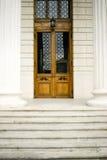 σκαλοπάτια πορτών στοκ εικόνες