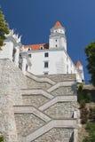 σκαλοπάτια πυλών κάστρων στοκ φωτογραφία με δικαίωμα ελεύθερης χρήσης