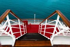 σκαλοπάτια σκαφών Στοκ Εικόνα