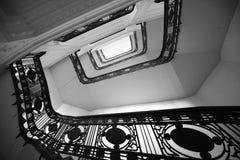 Σκαλοπάτια στην προοπτική κτήρια στοκ φωτογραφία με δικαίωμα ελεύθερης χρήσης