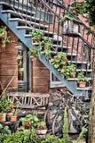 Σκαλοπάτια στο τέλος μιλι'ου Στοκ φωτογραφία με δικαίωμα ελεύθερης χρήσης