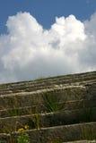 σκαλοπάτια σύννεφων στοκ εικόνα