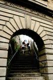 Σκαλοπάτια Argyle Στοκ εικόνες με δικαίωμα ελεύθερης χρήσης