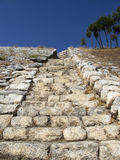 Σκαλοπάτια Hittites στοκ εικόνες