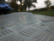 Σκαλοπάτι μετάλλων Στοκ φωτογραφία με δικαίωμα ελεύθερης χρήσης
