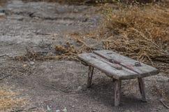Σκαμνί φιαγμένο από ξύλο στοκ φωτογραφία με δικαίωμα ελεύθερης χρήσης