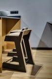 σκαμνιά δύο ξύλινα Στοκ Φωτογραφίες