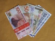 Σκανδιναβικά τραπεζογραμμάτια Στοκ Φωτογραφία