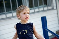 σκανταλιάρικο παιδί Στοκ Εικόνες