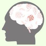 Σκαντζόχοιροι στον εγκέφαλο Στοκ φωτογραφίες με δικαίωμα ελεύθερης χρήσης
