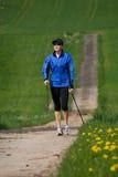 Σκανδιναβικά περπατώντας 2 Στοκ Φωτογραφία