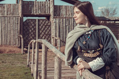 Σκανδιναβική γυναίκα στοκ εικόνες