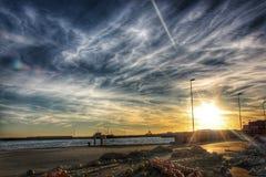 Σκανδιναβικοί ουρανοί Στοκ Εικόνες