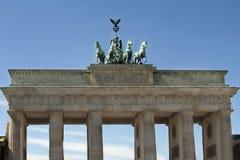 σκαπάνη του Βερολίνου brandenbu Στοκ εικόνα με δικαίωμα ελεύθερης χρήσης