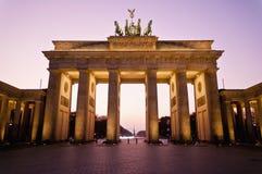σκαπάνη του Βερολίνου brandenburger Γερμανία στοκ εικόνες