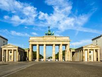 σκαπάνη του Βερολίνου brandenburger στοκ εικόνες