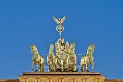 σκαπάνη του Βερολίνου brandenburger Γερμανία Στοκ φωτογραφίες με δικαίωμα ελεύθερης χρήσης