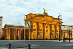 Σκαπάνη Brandenburger στο Βερολίνο Στοκ φωτογραφία με δικαίωμα ελεύθερης χρήσης