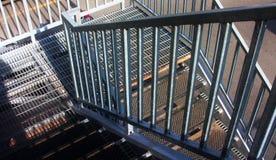 Σκαλοπάτια μετάλλων Στοκ Φωτογραφία