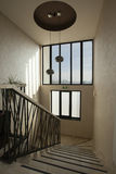 Σκαλοπάτια ξενοδοχείων πολυτελείας Στοκ Εικόνα
