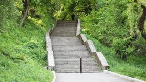 σκαλοπάτια πάρκων Στοκ φωτογραφίες με δικαίωμα ελεύθερης χρήσης