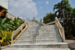 Σκαλοπάτια σε κινεζικό Tample Στοκ εικόνες με δικαίωμα ελεύθερης χρήσης
