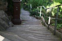 Σκαλοπάτια σε Montmartre Στοκ Φωτογραφία