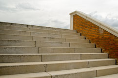 Σκαλοπάτια στον ουρανό Στοκ φωτογραφία με δικαίωμα ελεύθερης χρήσης