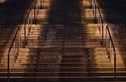 Σκαλοπάτια στον ουρανό Στοκ εικόνα με δικαίωμα ελεύθερης χρήσης