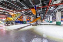 Σκαλοπάτια στο εργοστάσιο Στοκ φωτογραφία με δικαίωμα ελεύθερης χρήσης