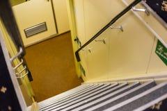 Σκαλοπάτια στο εσωτερικό Στοκ Εικόνες