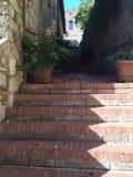 Σκαλοπάτια της Φλωρεντίας στοκ φωτογραφίες