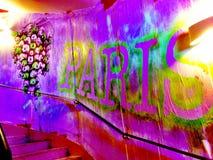 σκαλοπάτια του Παρισιού Στοκ φωτογραφία με δικαίωμα ελεύθερης χρήσης