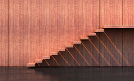 Σκαλοπάτια ύφους μινιμαλισμού Στοκ Εικόνες