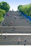 Σκαλοπάτια Potemkin στην πόλη της Οδησσός Στοκ φωτογραφίες με δικαίωμα ελεύθερης χρήσης