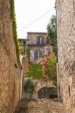Σκαλοπάτια vaison-Λα-Romaine Στοκ Εικόνες