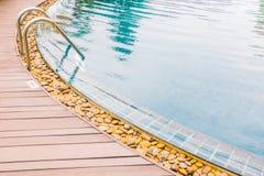 Σκαλοπάτι λιμνών Στοκ εικόνες με δικαίωμα ελεύθερης χρήσης