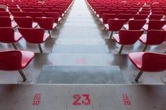 Σκαλοπάτι και καθίσματα Στοκ Φωτογραφίες