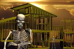 σκελετοί Στοκ εικόνες με δικαίωμα ελεύθερης χρήσης