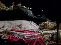 Σκελετός Αγίου Ambrogio στο Μιλάνο Στοκ φωτογραφία με δικαίωμα ελεύθερης χρήσης