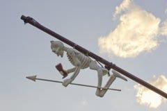 Σκελετός παιχνιδιών του σκάφους πειρατών Στοκ Εικόνα