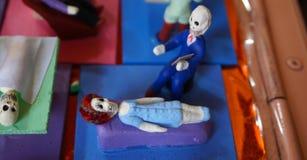 Σκελετός ψυχολόγων στοκ φωτογραφία