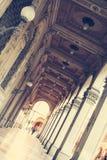 Σκεπαστές είσοδοι πρόσοψης της Μπολόνιας στοκ φωτογραφία με δικαίωμα ελεύθερης χρήσης