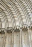 Σκεπαστή είσοδος πρόσοψης Αγίου Michael Archs Στοκ Εικόνες
